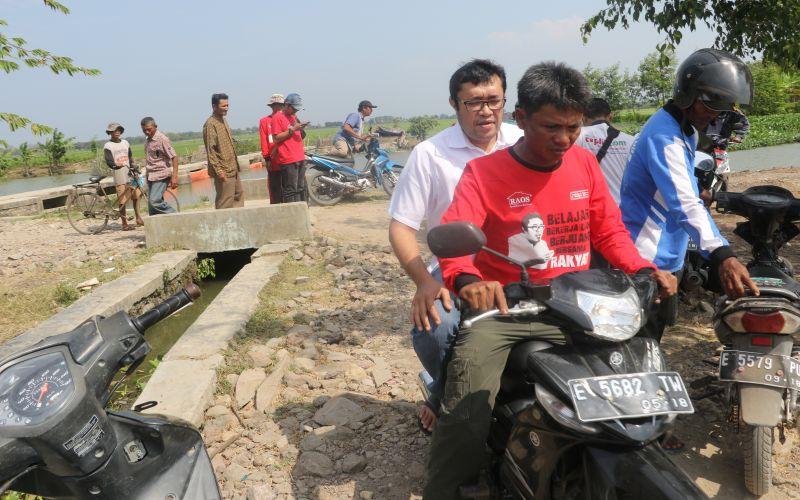 Riding Bersama Petani Menelusuri Persawahan Kabupaten Indramayu