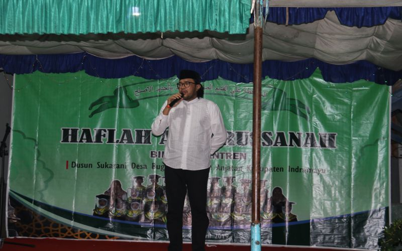 Menghadiri Acara di Pondok Pesantren Bugis-Anjatan, Indramayu