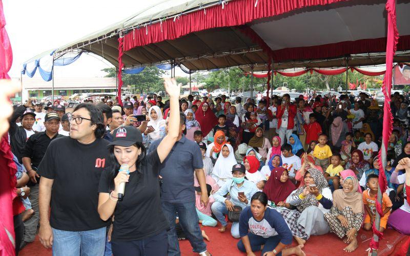Deklarasi Tim Alfa Jokowi di Kerangkeng - Indramayu Bersama Rieke Diah Pitaloka