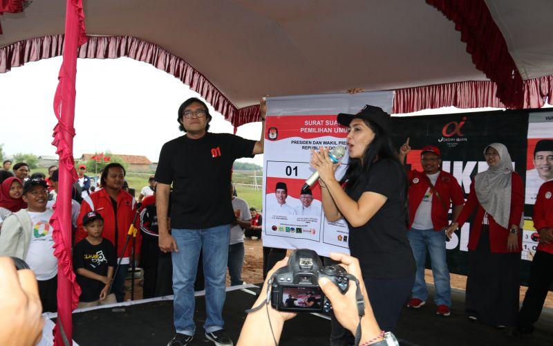 Deklarasi Tim Alfa Jokowi di Indramayu - Indramayu Bersama Rieke Diah Pitaloka