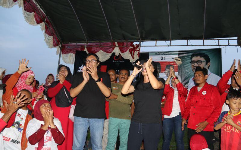 Deklarasi Tim Alfa Jokowi di Jatibarang - Indramayu Bersama Rieke Diah Pitaloka