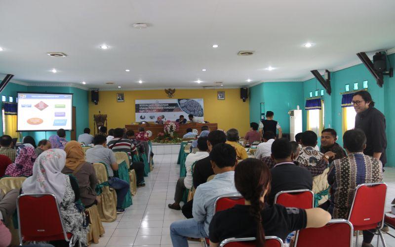 Sosialisasi Perijinan Penangkapan ikan di KKP Kejawanan - Cirebon