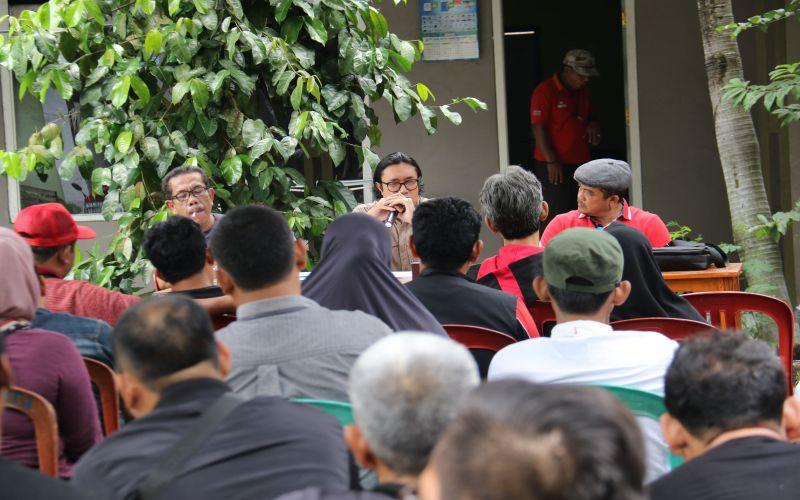 Pembekalan Para Caleg DPRD Kabupaten indramayu & Strategi Tim Pemenangan dari Rumah Aspirasi Ono Surono (RAOS)