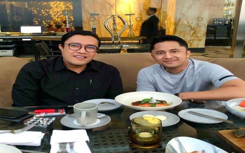 Makan bersama Wakil Bupati Bandung Barat, Kang Hengky Kurniawan.
