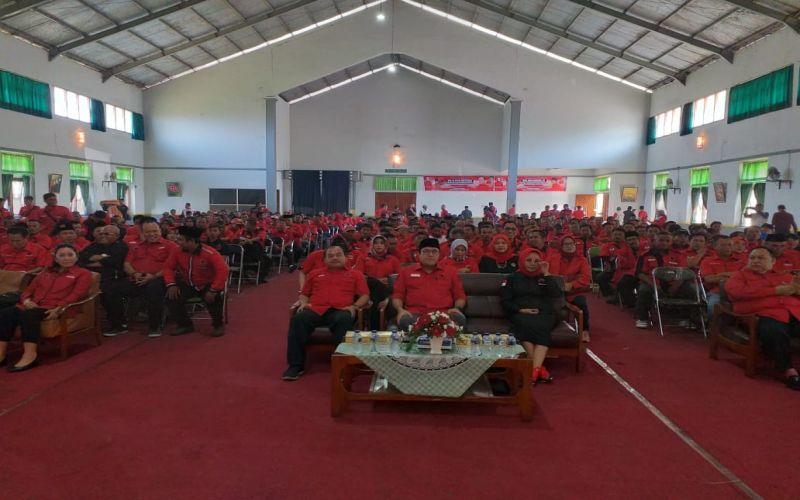 konsolidasi Pemenangan PILKADA serentak 2020 ke Struktur pengurus PDI PERJUANGAN Kabupaten Cianjur