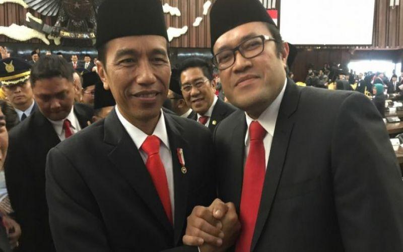 Bersama Presiden Republik Indonesia Bapak Ir.H. Joko Widodo