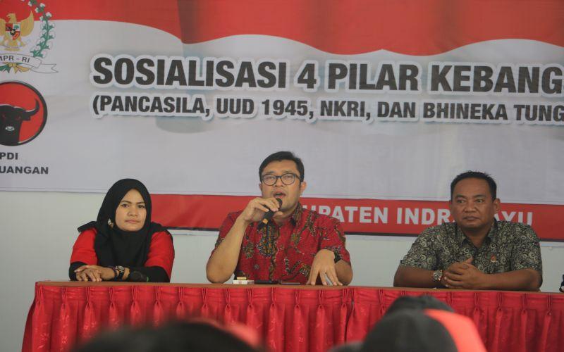 Sosialisasi 4 Pilar Kebangsaan Oleh Anggota DPR RI Bapak Ono Surono