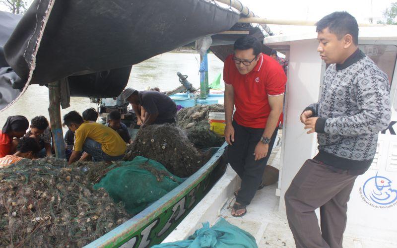 Sidak Alat Tangkap Nelayan Indramayu