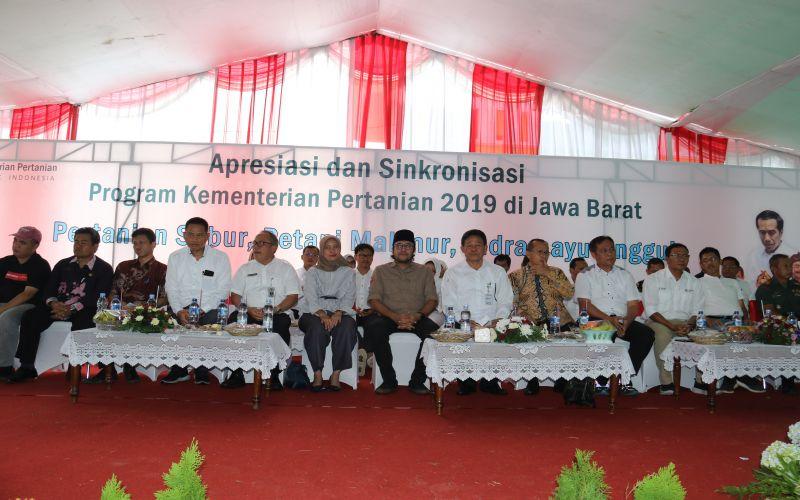 Kunker Anggota DPR RI & KEMENTAN Bersama Kelompok Tani Indramayu & Cirebon